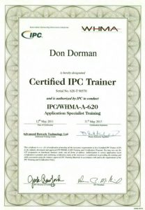 IPC 620 Trainer Certified