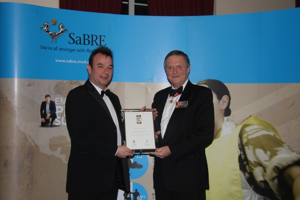 Rockford receive Silver Award for the Defence Employer Recognition Scheme